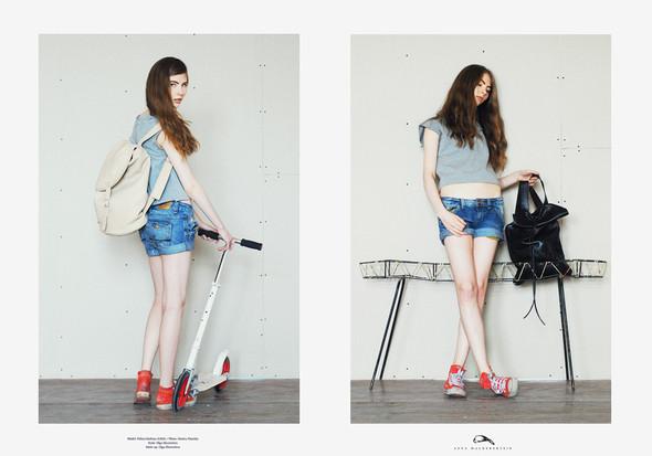 Изображение 18. Летняя коллекция рюкзаков от Asya Malbershein.. Изображение № 7.