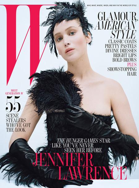 Дженнифер Лоуренс стала лицом Miss Dior. Изображение № 1.