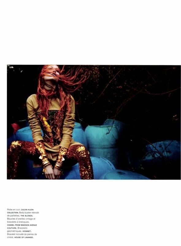 Съёмка: Карли Клосс для Numero. Изображение № 5.