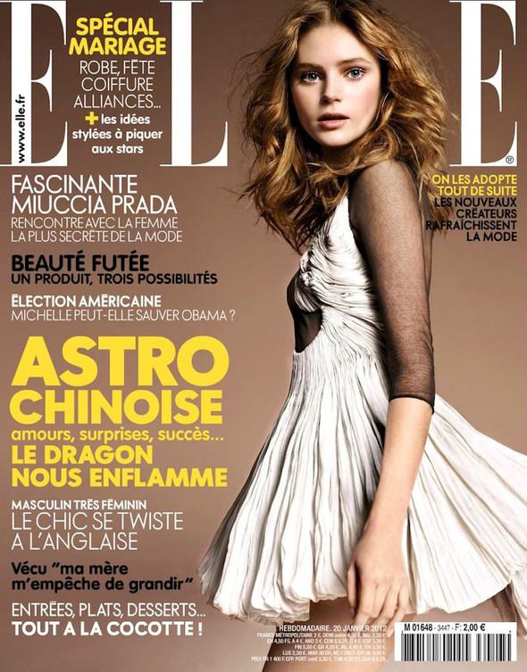 Обложки: Elle, Jalouse и Marie Claire. Изображение № 1.