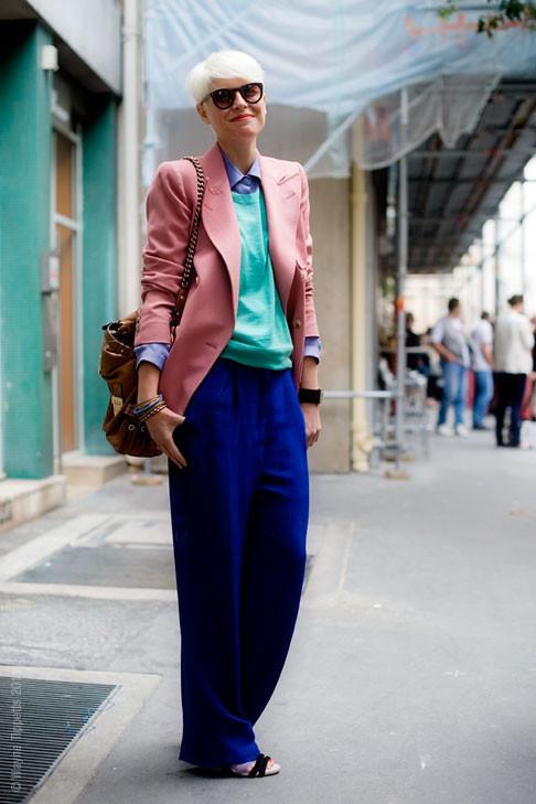 Уличный стиль на Неделе высокой моды в Париже. Изображение № 130.