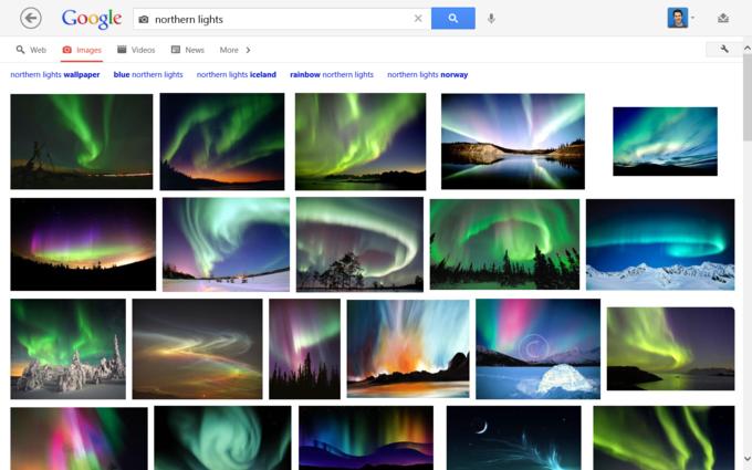 Нынешняя версия Google Image. Изображение № 1.
