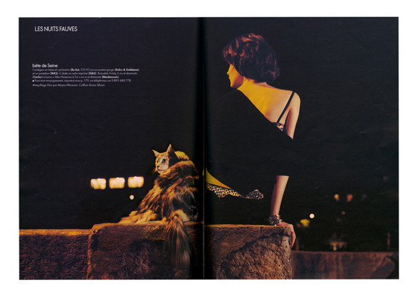 Les nuits fauves, Elle octobre 2009. Изображение № 16.