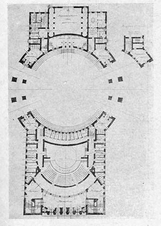 Архитектурные конкурсы 1923–1926 г.вСССР. Изображение № 2.