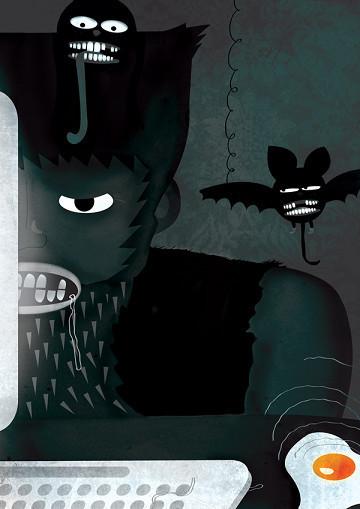 Гоу Гоу Зомби! - Иллюстратор из Санкт-Петербурга. Изображение № 2.
