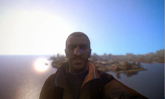 Мод позволяет делать селфи в GTA IV . Изображение № 10.