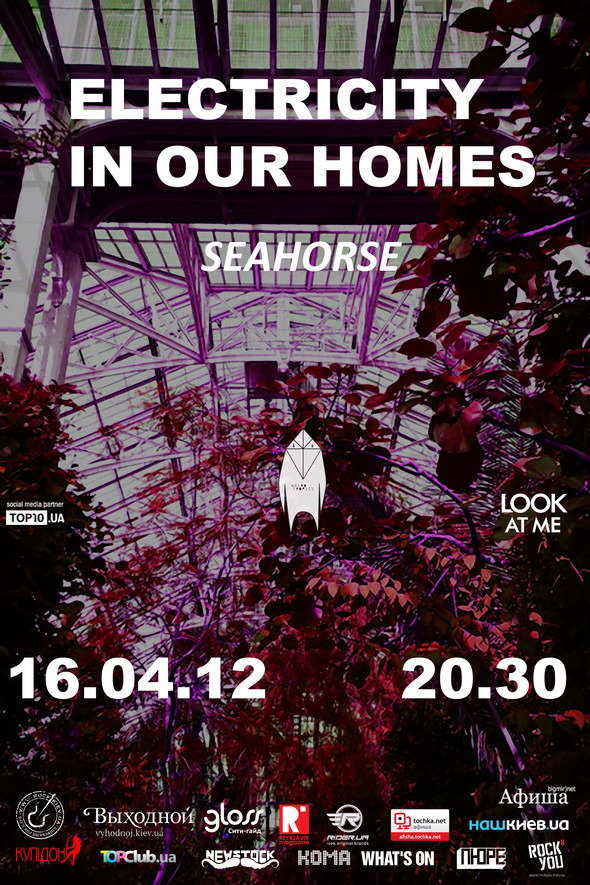 POST-PUNK NIGHT - ELECTRICITY IN OUR HOMES. Изображение № 1.