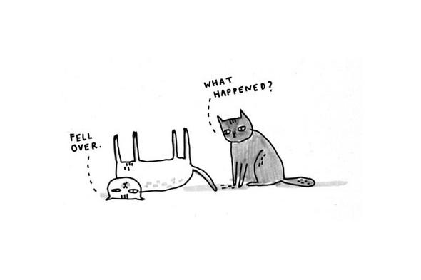 Gemma Correll и её коты. Изображение № 4.