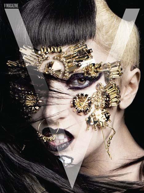 Изображение 8. Lady GaGa в журнале V. Июнь 2011.. Изображение № 8.