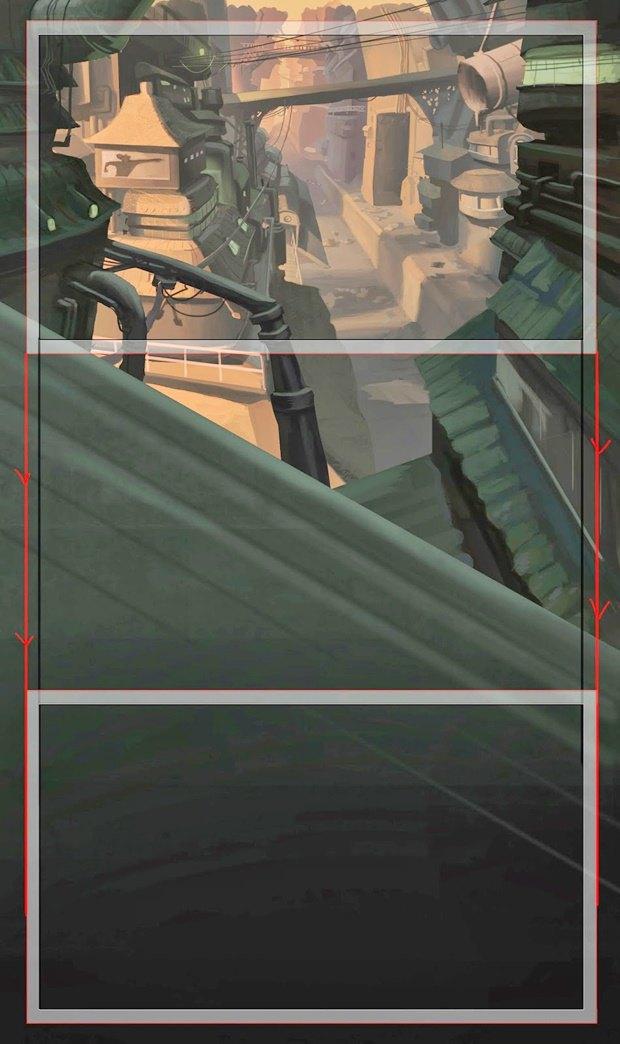 Анимация: бродяга спасает пса встимпанковском городе. Изображение № 31.