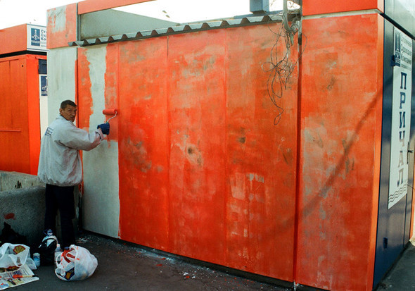 Художественные методы уничтожения граффити. Изображение № 1.