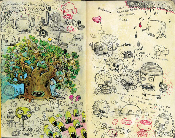 The Sketchbook Project. Изображение № 6.