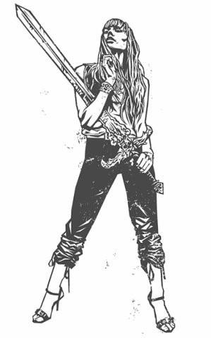 Девушки с оружием от Frank Barbara. Изображение № 43.