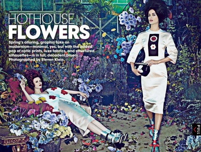 Vogue, AnOther и другие журналы опубликовали новые съемки. Изображение № 44.