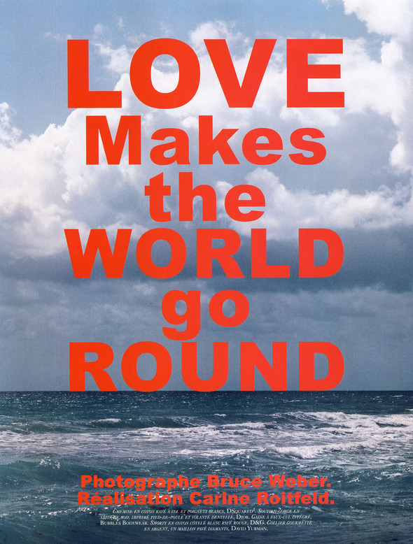 Love Makes the World Go Round. Изображение № 1.