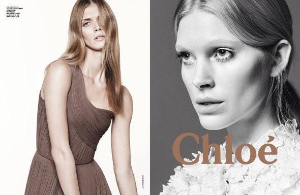 Изображение 2. Рекламные кампании: Chloe, Jean Paul Gaultier, Michael Kors и Versace.. Изображение № 2.