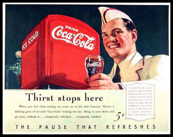 Изображение 21. Coca-cola – История бренда, история рекламы.. Изображение № 21.