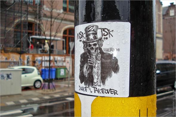 Стрит-арт и граффити Амстердама, Нидерланды. Изображение № 27.