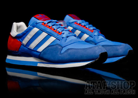Adidas Originals ZX 500 – Pool Blue. Изображение № 3.