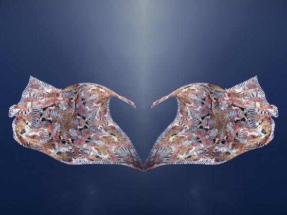 Изображение 1. Лукбук: платки Alexander McQueen SS 2011.. Изображение № 1.