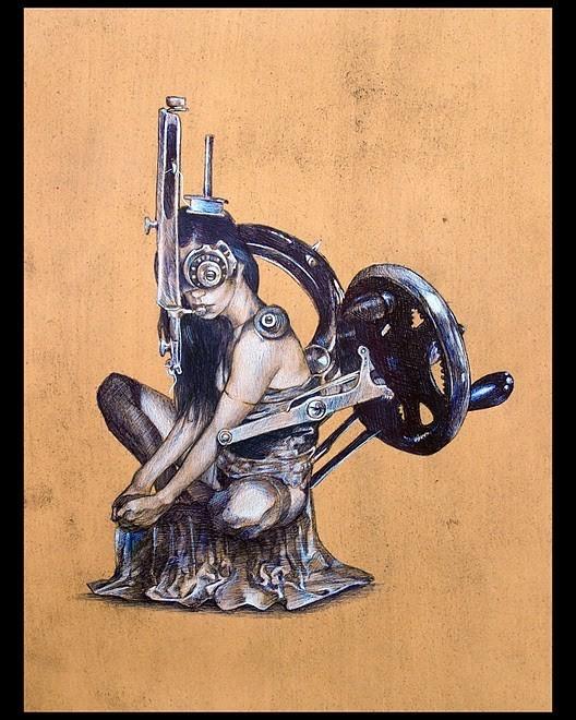 Женственный машинариум Джефри Ритчера. Изображение № 23.