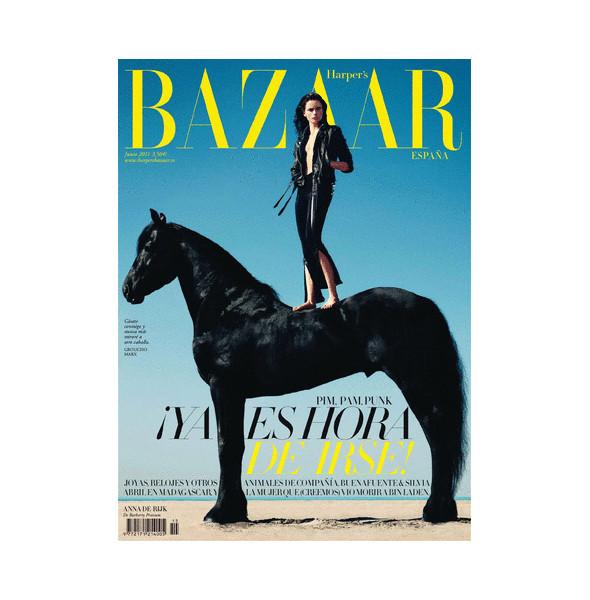 Изображение 6. Обложки: Elle, Harper's Bazaar и другие.. Изображение № 5.