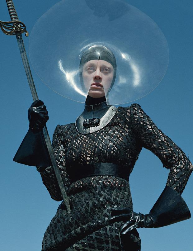 Новые съемки Dazed & Confused, Vogue, i-D и W Magazine. Изображение № 82.