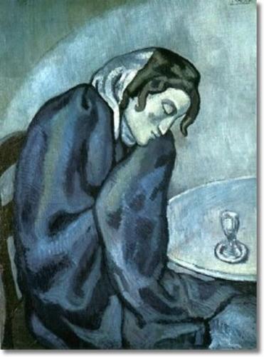 Пабло Пикассо, Любительница абсента. Изображение № 29.