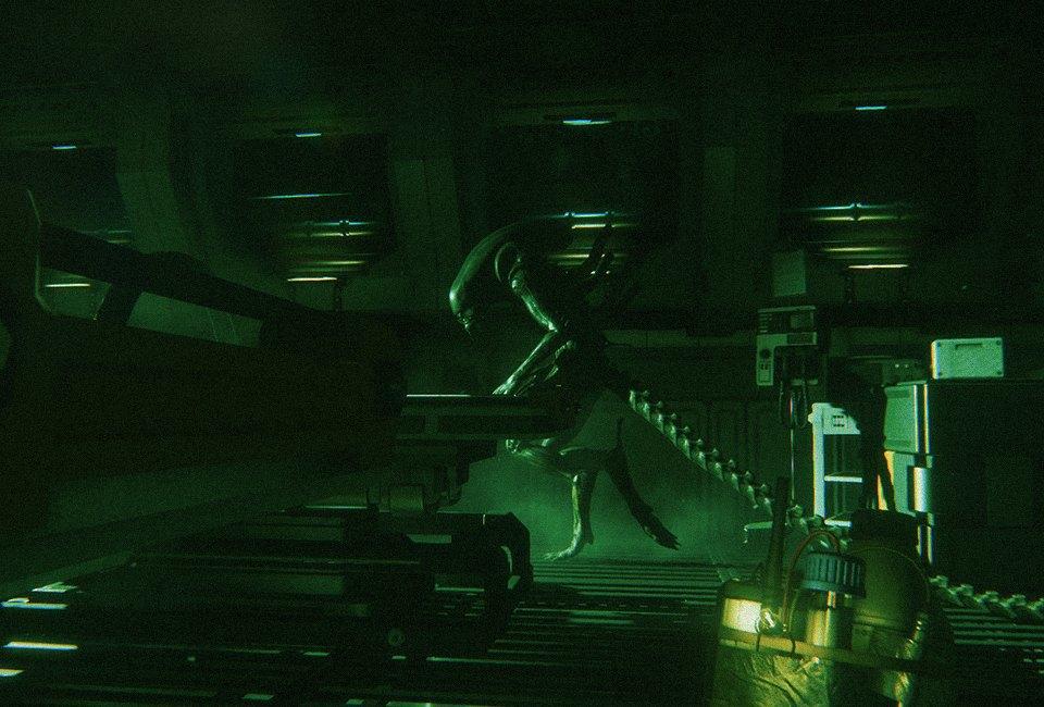 «Представь, что ты большой желтый круг!»:  Пятеро человек играют в Alien: Isolation. Изображение № 12.