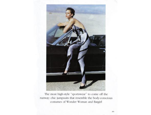 Кристи Терлингтон в американском Vogue, апрель 1990 . Изображение № 19.