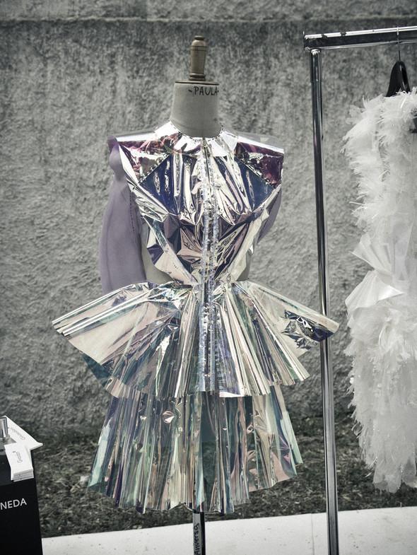 Фестиваль Hyeres: Дневник с бэкстейджа самого смелого конкурса в фэшн-дизайне. Изображение № 42.