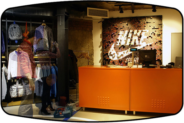 CASHDESK GRAPHIK FOR NIKE. Изображение № 6.