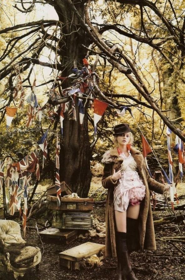 Изображение 4. «Sasha», британский Vogue, декабрь 2007.. Изображение № 4.