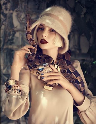 Съёмка: Аугусте Абелюнайте для Vogue. Изображение № 6.