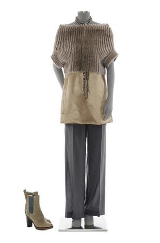 Brunello Cucinelli: лукбук осень-зима 2011/2012. Изображение № 27.