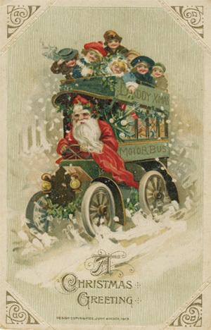 Новогодняя ирождественская открытка. Изображение № 9.