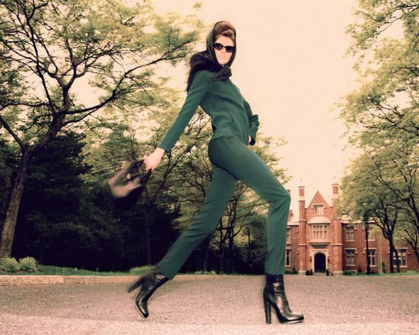 Съемка: Тэрин Дэвидсен для сентябрьского Elle Канада. Изображение № 1.