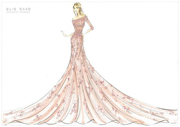 10 платьев диснеевских принцеcc от мировых дизайнеров в Harrods. Изображение №2.