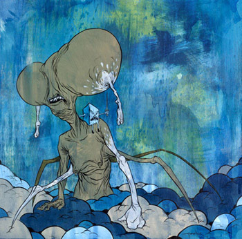 "Alex Pardee ""If i am not creating, i will die. "". Изображение № 7."