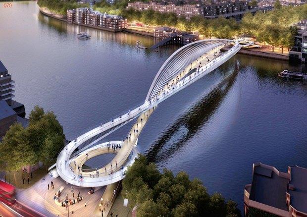 Выложены 74 проекта нового моста через Темзу. Изображение № 9.