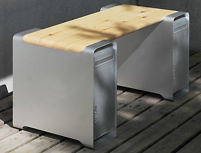 Дизайнер создал мебель изкомпьютера Apple. Изображение № 7.