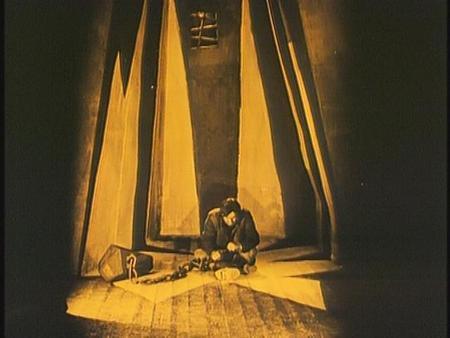 «Кабинет доктора Калигари»Роберт Вине. триллер, 1919. Изображение № 25.