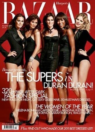Обложка декабрьского номера Harper's Bazaar. Изображение № 7.
