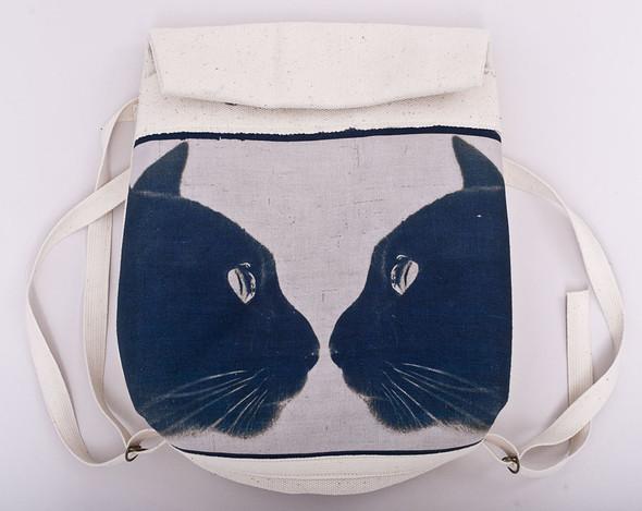 БЕЛОЕ — рюкзаки и сумки из грубого белого хлопка. Изображение № 9.