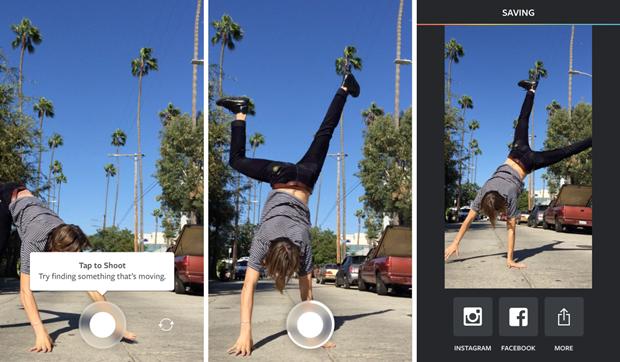 Instagram издал приложение дляанимаций на 10 кадров. Изображение № 2.