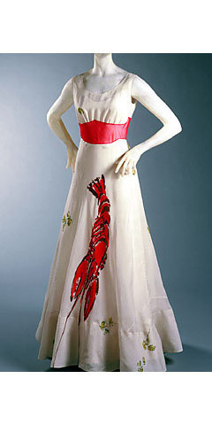 Платье Elsa Schiaparelli — Lobster Dress. Изображение № 19.