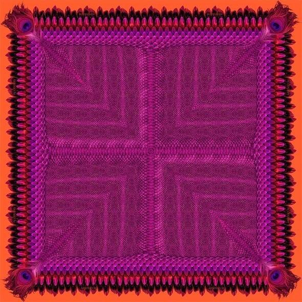 Изображение 8. Лукбук: платки Arsenicum.. Изображение № 8.