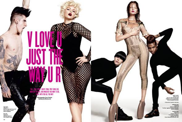 Терри Тсиолис для V Magazine #63. Изображение № 1.