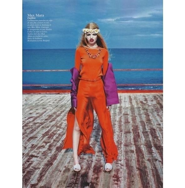 Изображение 63. Съемки: Harper's Bazaar, Industrie, Vogue и другие.. Изображение № 110.