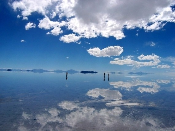 Изображение 1. Зеркало Земли - озеро Salar de Uyuni.. Изображение № 5.